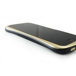 DRACO ELEGANCE ALUMINUM BUMPER til iPhone 5/5S - GULD/SORT