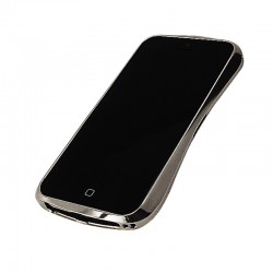 "DRACO 5 ALUMINUM BUMPER ""LIMITED EDITION"" til iPhone 5/5S - LUXURY SØLV"