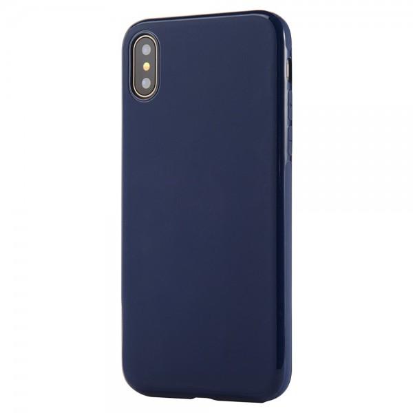 iPhone XR SULADA Magnetisk TPU Cover - Mørkeblå