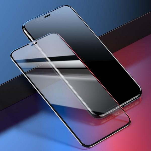 iPhone XR BASEUS 0.23mm Beskyttelsesglas  - Sort