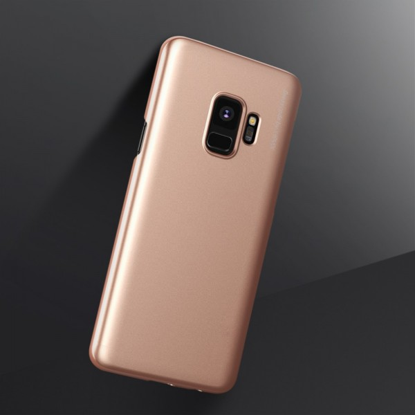 Samsung Galaxy S9  X-LEVEL Knight Series TPU Cover - Guld
