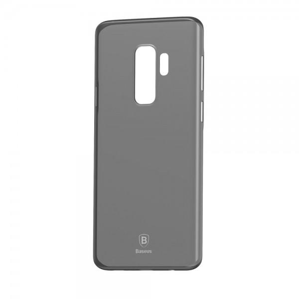 Samsung Galaxy S9 Plus BASEUS Ultra Tynd TPU Cover - Gennemsigtig Sort