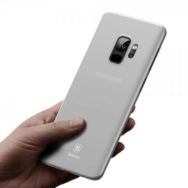 Samsung Galaxy S9 Plus BASEUS Ultra Tynd TPU Cover - Gennmsigtig