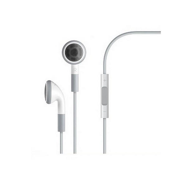 Apple Original In-Ear med Fjernbetjening og Mikrofon til iPhone iPod iPad