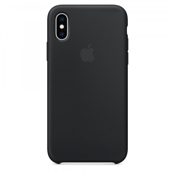 Apple iPhone X / XS Silikone Cover – Sort