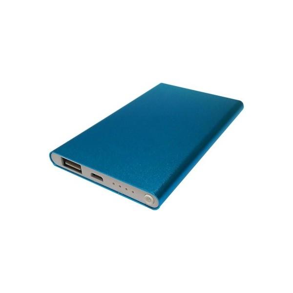 GreyLime Power Slim 4000 mAh Powerbank - Mørkeblå
