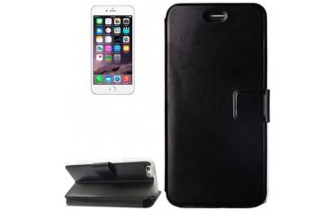 iPhone 6 Plus / 6S Plus VOLTAGE Læder Wallet Etui - Sort