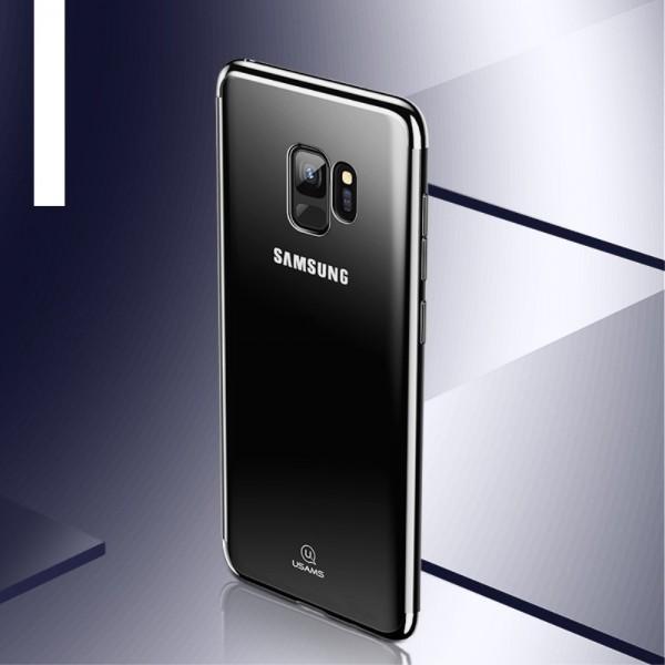 Samsung Galaxy S9 USAMS Kingdom Series Electroplated TPU Cover - Sort