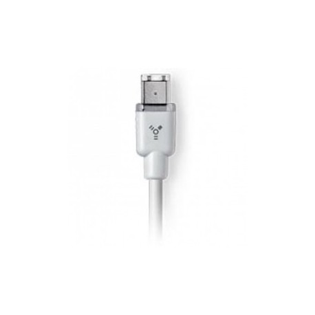 Apple Thin FireWire Cable 4-pin til 6-pin (1,8 m)