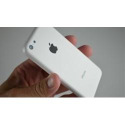 Udskiftning af iPhone 5C Bagcover (Hvid)
