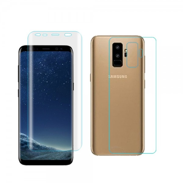Samsung Galaxy S9+ ANGIBABE Front - Back Beskyttelsesfilm