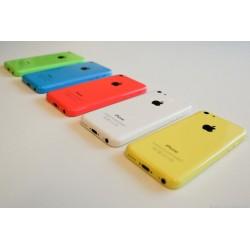 Udskiftning af iPhone 5C Bagcover (Rød)