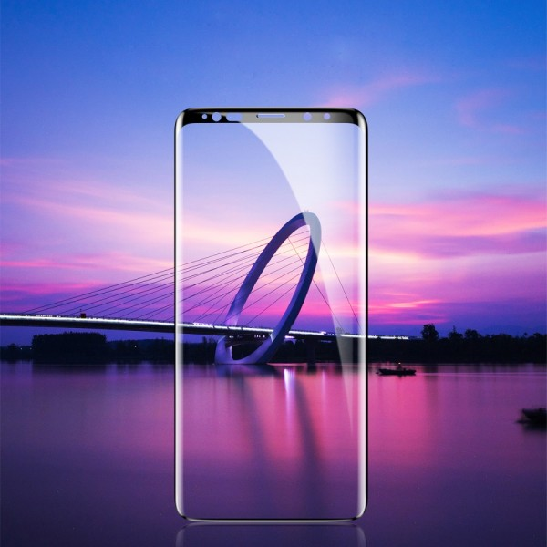 Samsung Galaxy Note 9 BASEUS 0.3mm Beskyttelsesglas Sort