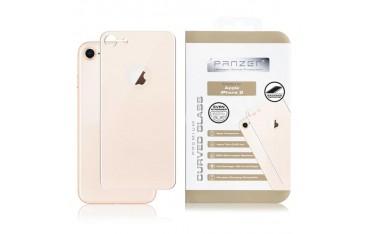iPhone 8 PANZER Curved Silicate Glass - Beskyttelsesglas til Bagsiden - Gold