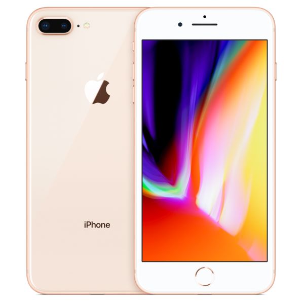 Apple iPhone 8 Plus 128GB - Guld (Grade A)