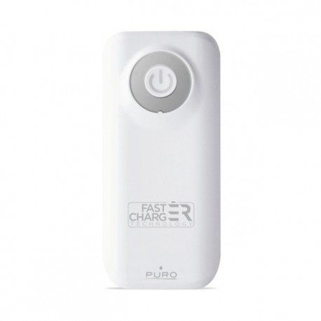 PURO Fast Charger Power Bank, 4000 mAh - Hvid