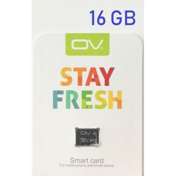 OV STAY FRESH microSD Hukomelseskort 16GB