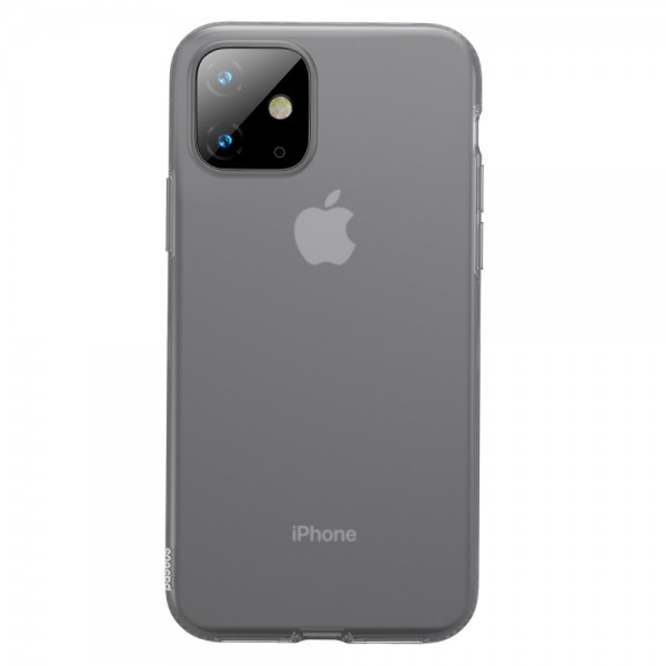 iPhone 11 BASEUS Liquid Silicone Shell Cover - Sort