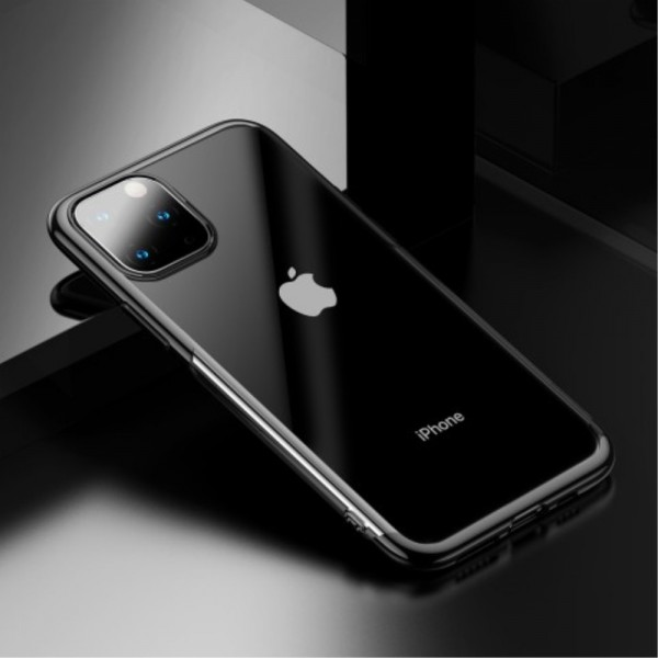 iPhone 11 BASEUS Shining Series Plated TPU Cover - Sort