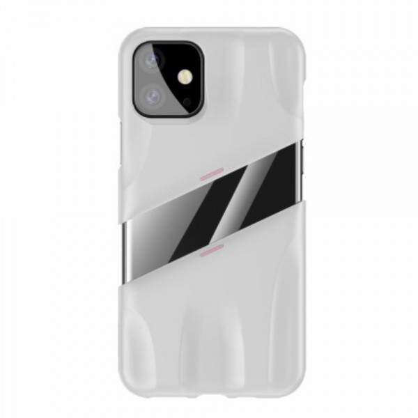 iPhone 11 PRO MAX BASEUS Let's go Series Protective Cover  - Hvid