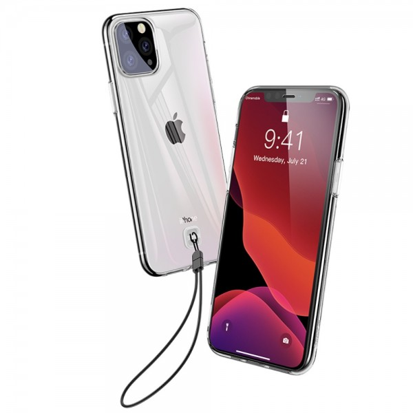 iPhone 11 PRO MAX BASEUS Clear TPU Cover - Gennemsigtig