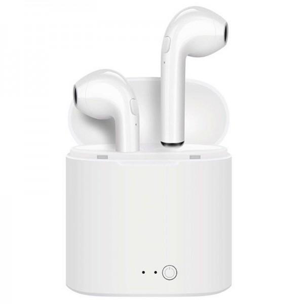 i7S TWS Trådløs Høretelefoner - Sort