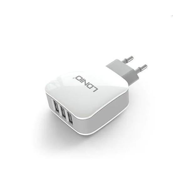 LDNIO DL-AC70 Universel 3-port USB Oplader