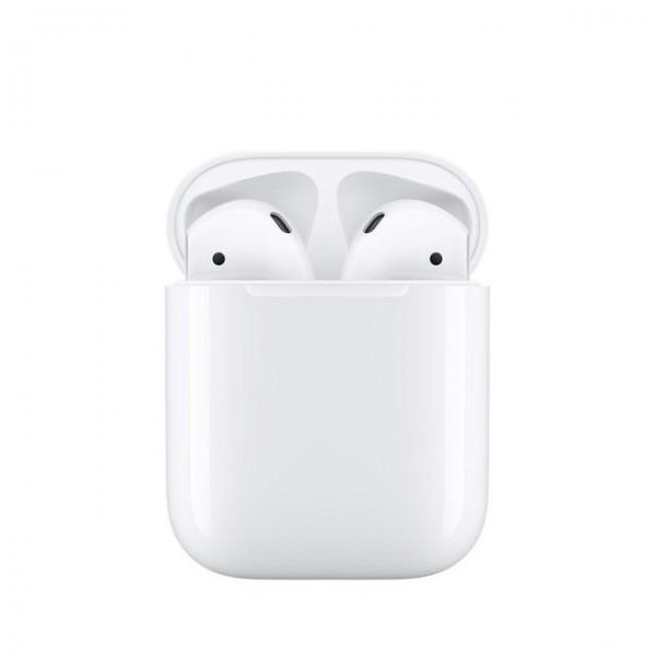 APPLE ORIGINALT Airpods Trådløse Høretelefoner (Udstillingsmodel) - MMEF22M/A - Hvid