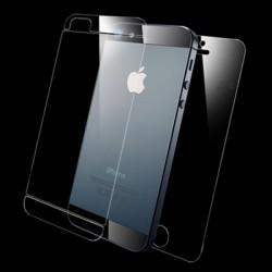 SGP 2 i 1 (Front+Bag) Klar LCD Skærmbeskyttelse til iPhone 5