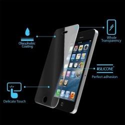 iPhone SE/5S/5C/5 Beskyttelsesglas med 2 x Hjemknap Stickers