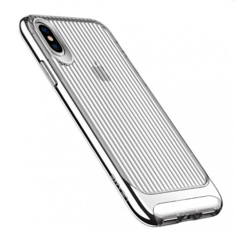 USAMS iPhone X/XS cover med bølge tekstur