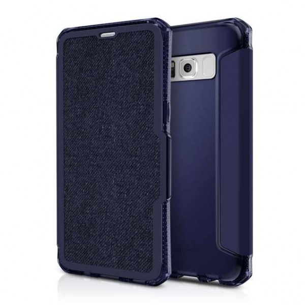 ITSKINS Antishock Cover Etui til iPhone SE(2020) / 7 / 8 -  Mørkblå