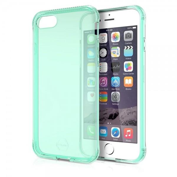 ITSKINS Antishock Gel Case Cover til iPhone SE(2020) / 7 / 8 -  Gennemsigtig-Lilla