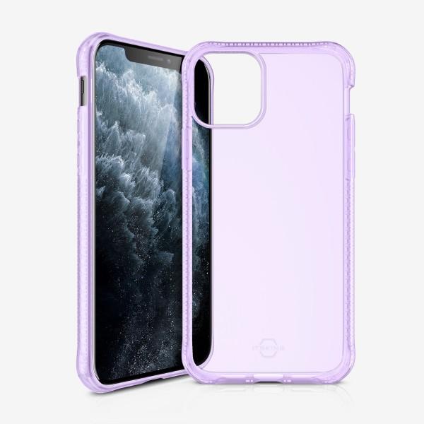 ITSKINS Hybridspark Cover til iPhone 11 Pro Max - Gennemsigtig Lilla