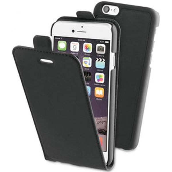 BE HELLO Flip Case Etui til iPhone 6 / 6s -  Sort