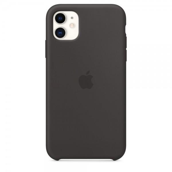 APPLE Original Silikone Cover til iPhone 11 - Sort