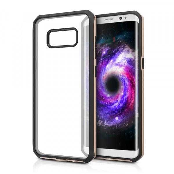 ITSKINS Antishock Duo Cover til Samsung Galaxy S8 - Gennemsigtig