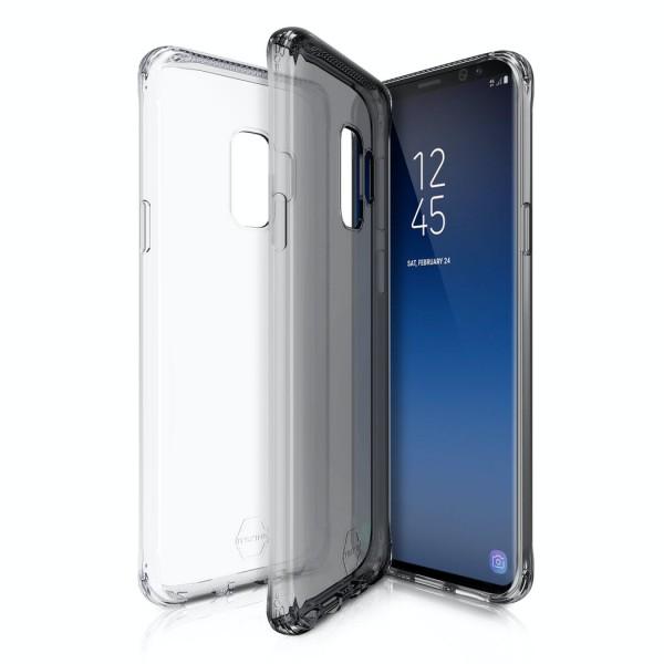 ITSKINS Slim Protect Gel Cover til Samsung Galaxy S9 2-pak - Gennemsigtig og Grå