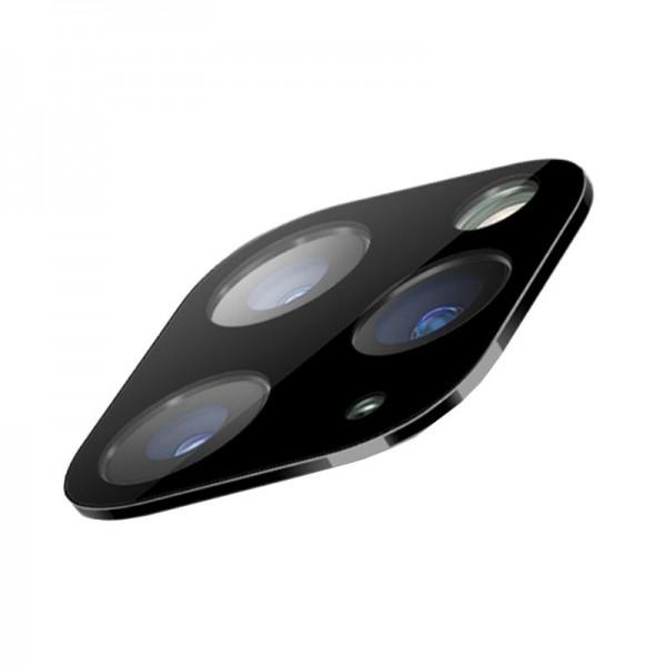 iPhone 11 Pro / 11 Pro Max Kamera Linse Beskyttelse - Sort