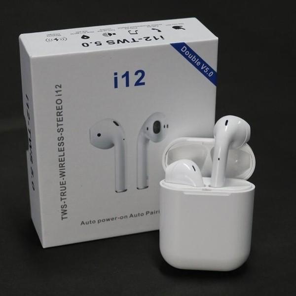 i12 TWS Bluetooth Trådløse In-ear Hovedtelefon