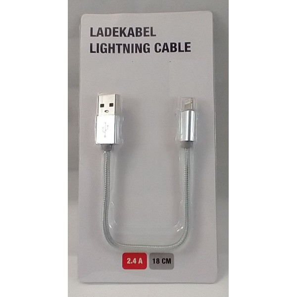 Lightning 8PIN USB Data og Opladerkabel