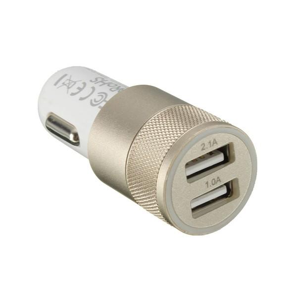 ROHS Dobbelt USB Oplader til Bilen