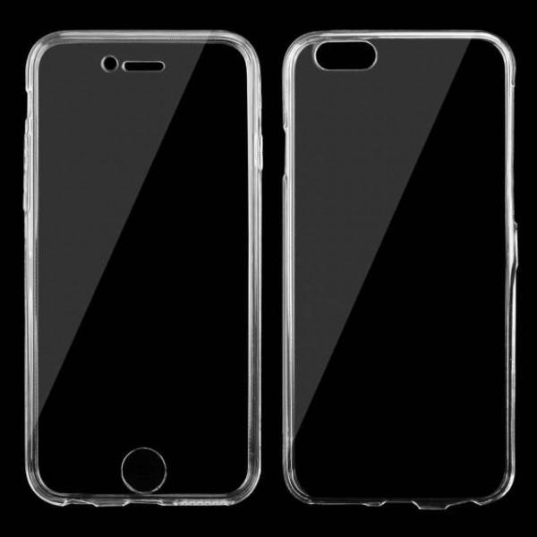 Dobbelt Shell Cover til iPhone 6 Plus / 6S Plus - Gennemsigtig