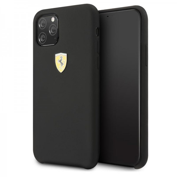 SCUDERIA FERRARI iPhone 11 Pro Max Silikone Cover - Sort