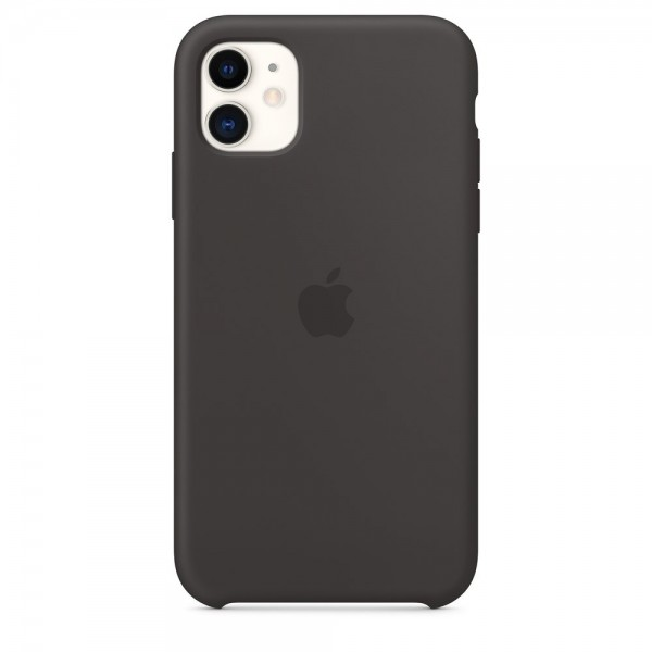 APPLE Original Silikone Cover til iPhone 11 - Sort