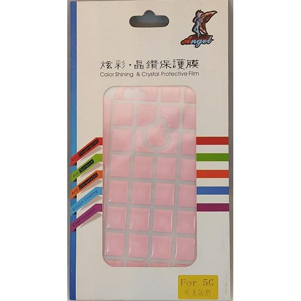 3D Sticker til iPhone SE / 5S / 5 Pink