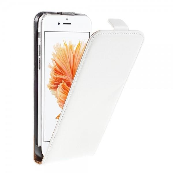 SiNOX S560 iPhone 6 / 6S  Flip Case Etui - Hvid
