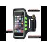 SINOX Smart Løbearmbånd med LED Lys til iPhone 6 / 6S / 7 / 8 / X / XS / XR / 11 / 11 Pro - L - Sort