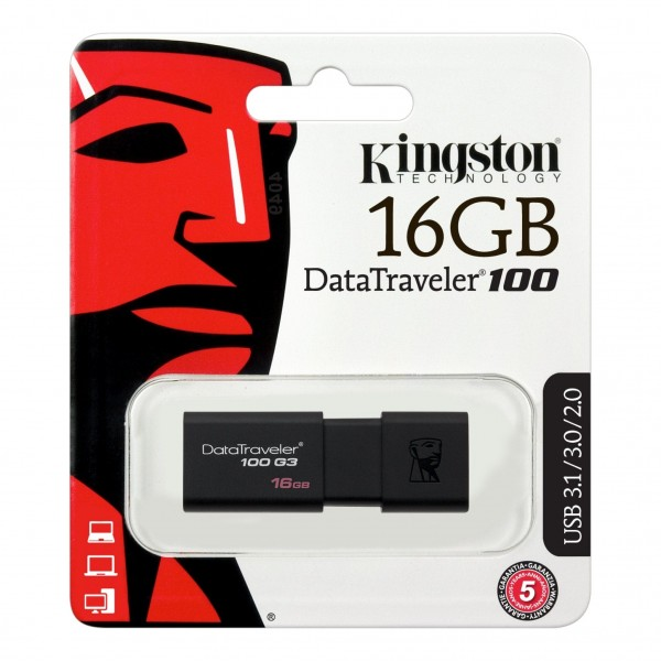 KINGSTON USB Nøgle 16 GB