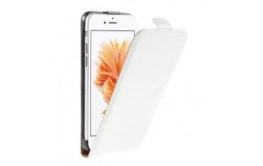 SiNOX S560 Flip Case Etui til iPhone 5 / 5S / SE (1.Gen.) - Hvid
